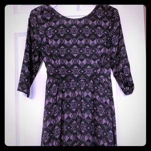 Lush dress mid length